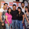 Aamir Khan visits Radio City to promote Delhy Belly