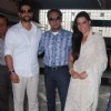 Aftab and Gulshan at Special screening of Bin Bulaye Baarati for Helpage India at Parel Mumbai