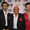Karan Johar, Yash Chopra and Neil Nitin Mukesh at Spaghetti restaurant launch