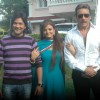 Jackie Shroff, Sheeba at Neil Ko Pakadna on location in Madh