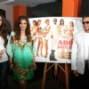 Raveena Tandon and Gulshan Grover unveil homeless dog adoption campaign ad of PETA at Zenzi Resto-Bar in Bandra, Mumbai