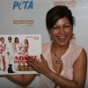 Hard Kaur at homeless dog adoption campaign ad of PETA at Zenzi Resto-Bar in Bandra, Mumbai