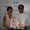 Hard Kaur and Gulshan Grover unveil homeless dog adoption campaign ad of PETA at Zenzi Resto-Bar