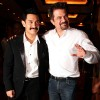 Aamir Khan and Anil Kapoor at Delhi Belly success bash at Taj Lands End, Bandra, Mumbai