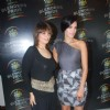 Neha Dhupia and Neeta Lulla at Seagram's Blenders Pride press meet at Four Point, Vashi