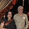 Moushmi Chatterji at wedding reception party of Dr.Abhishek and Dr.Shefali Khar