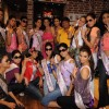 I am She contestants on a shopping spree at Ed Hardy showroom at Palladium