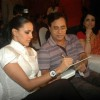 Neha Dhupia and Jagjit Singh at the music lauch of film Gandhi To Hitler at The Club