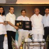 Gulzar, Vishal Bhardwaj and Suresh Wadkar at the launch of Barse Barse album at Santacruz