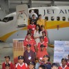 Sameera Reddy along with Jet Airways take an educational trip for special children of NGO, Santacruz