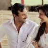 Deepika and Saif Ali in the movie Aarakshan