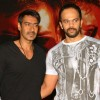 Ajay Devgan and Rohit Shetty at press -meet to promote their film 'Singham', in New Delhi