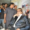 Amitabh Bachchan visits the sets of reality show X Factor India to promote his film Aarakshan at Filmcity, Mumbai