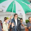 Amitabh Bachchan at Aarakshan PC, Film City