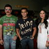 Salman Khan, Aditya Pancholi and Kareena Kapoor at the first look of movie Bodyguard