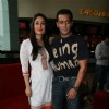 Salman and Kareena at the first look of movie Bodyguard