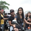 Katrina ride bike with Hrithik as pillion to promote their film 'Zindagi Na Milegi Dobara', Filmcity