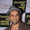 Abhay Deol promote ZNMD at Cinemax, Mumbai
