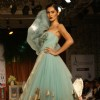 Model showcasing designer Shantanu & Nikhil's creations at Synergy1 Delhi Couture Week,in New Delhi