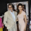 Amitabh Bachchan and Deepika Padukone promote Aarakshan on the sets of UTV Bindaas