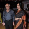 Yash Chopra and Tanvi Azmi at premiere of movie 'Bubble Gum'