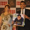 Sanjeev Kapoor with Madhuri Dixit at 'Amul FoodFood Mahachallenge' Reality Show in Mumbai