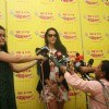 Neha Dhupia at Radio Mirchi to promote 'Gandhi To Hitler'