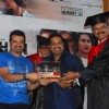 Shankar Mahadevan at Aarakshan film promotions at Welingkar college. .