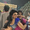 Rakhi Sawant shoots an item song for film 'Rakthbeej' at Filmistan