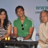 Milind Soman at Suzlon's new brand campaign for cleaner air at trident. .