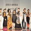Models display the designer Archana Kochhar's collection during the first day of Lakme fashion week winter/festive 2011, in Mumbai. .