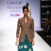 Model walk on the ramp for designer Parvesh Jai and Payal Kapoor at Lakme Fashion Week 2011 Day 2, in Mumbai