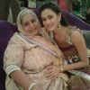 Ishikaa with her dadi in Bade Acche Laggte Hai
