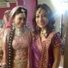 Neha with Natasha in Bade Acche Laggte Hai