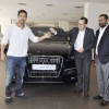 John Abraham gets his new Audi Q7 at Audi west, Mumbai