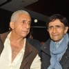 Dev Anand and Naseeruddin at Press conference and unveiling the promo of movie 'Chargesheet'