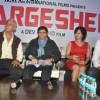 Dev Anand, Divya and Naseeruddin at Press conference and unveiling the promo of movie 'Chargesheet'