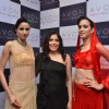 Leading model at Avon Jewellery Fashion Show at Trident