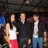 Katrina Kaif, Ali Zafar and Imran Khan on the sets of Just Dance to promote Mere Brother Ki Dulhan