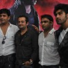 Ravi Kissen and Arya Babbar at First theatrical look of film 'Aazaan' at PVR, Juhu