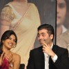 Karan Johar with Priyanka Chopra at 'Agneepath' trailer launch event at JW.Mariott