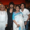 Asha Bhosle, Sonu Nigam, Pyarelal, Shaan at the Chevrolet GIMA Awards 2011 Voting Meet in Mumbai. .
