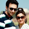 Nandish Sandhu with Rashmi Desai