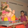 Jeetendra paying devote to Lord Ganesha during the occasion of Ganesh Chaturthi at their home