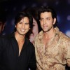 Hrithik Roshan and Shahid Kapoor on the sets of Just Dance in Filmcity, Mumbai