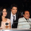 Ali Zafar, Katrina Kaif and Dharmendra on the sets of India's Got Talent