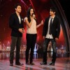 Imran Khan, Ali Zafar and Katrina Kaif on the sets of India's Got Talent