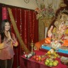 Prasanna Shetty celebrates Ganpati with Nandini Singh