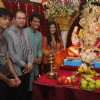Prasanna Shetty celebrates Ganpati with Nandini Singh and Avesh Dadlani in Aroma building, Andheri West
