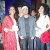 Himesh Reshammiya with Purbi Joshi and Sonal Sehgal launches music of movie 'Damadamm'